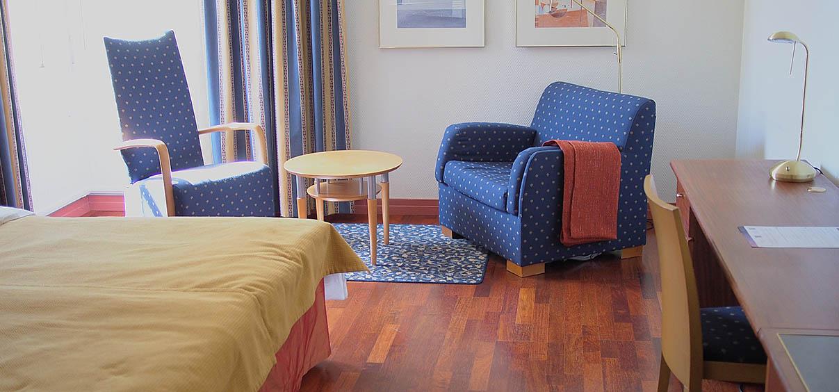Kuva Hotelli Auroran kahden hengen huoneesta